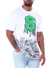 Shirts - Chenille Dollar Sign T-Shirt (B&T)-2513274