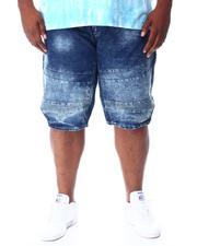 Akademiks - Moto Denim Shorts (B&T)-2511938