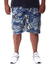 Buyers Picks - Bleached Ripped Denim Shorts (B&T)-2511968