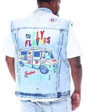 Born Fly - Ice Cream Truck Denim Vest (B&T)-2513297
