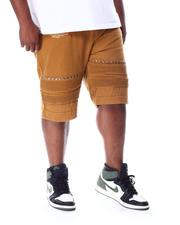 Buyers Picks - Studded Moto Knee Bull Shorts (B&T)-2511698