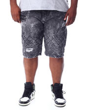 Men - Distressed Denim Shorts (B&T)-2512229