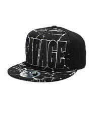 Hats - Paint Splatter Savage Snapback Hat-2511068