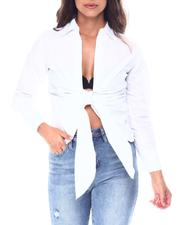 Fashion Lab - Knot front blouse-2513332
