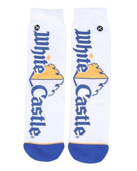ODD SOX - White Castle Big Logo Crew Socks