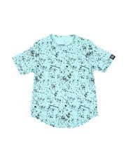 Boys - Paint Splatter Crew Neck T-Shirt (2T-4T)-2513948