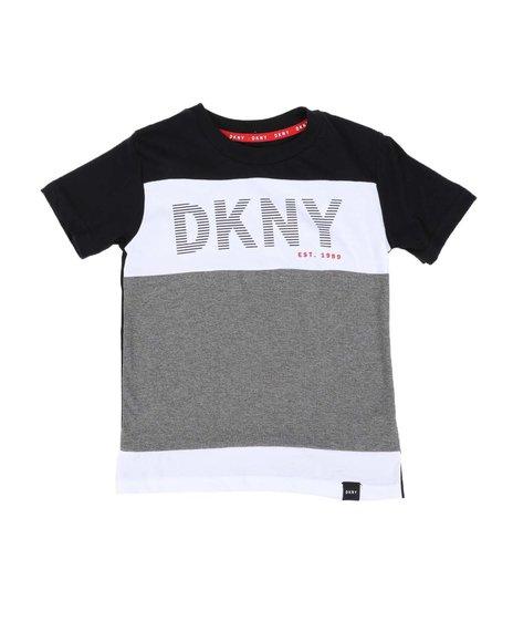 DKNY Jeans - DKNY Logo Color Block Tee (4-7)