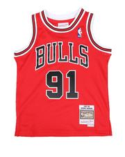 Sizes 8-20 - Big Kids - Swingman Jersey Chicago Bulls Alternate 1997-98 Dennis Rodman (8-20)-2514042