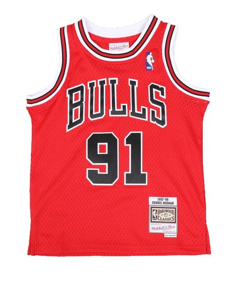 Mitchell & Ness - Swingman Jersey Chicago Bulls Alternate 1997-98 Dennis Rodman (8-20)