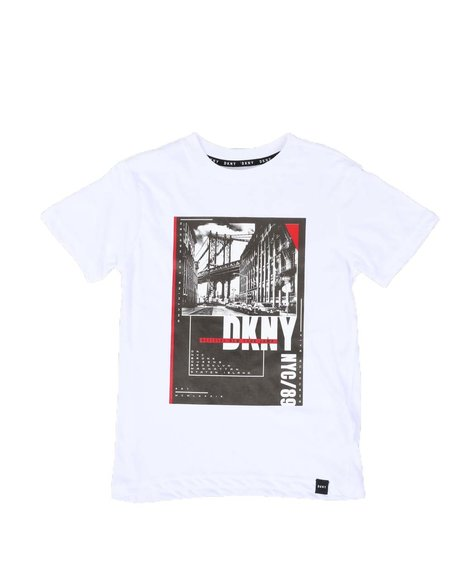 DKNY Jeans - Brooklyn Bridge Tee (8-20)