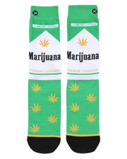 ODD SOX - Marijuana Pack Crew Socks-2514104