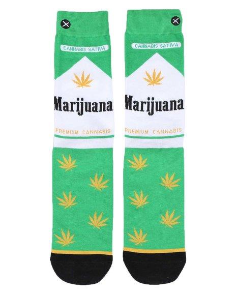 ODD SOX - Marijuana Pack Crew Socks