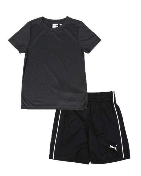 Puma - 2 Pc Performance Tee & Shorts Set (4-7)