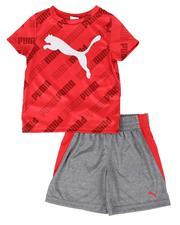 Sets - 2 Pc Logo Tee & Shorts Set (2T-4T)-2513862