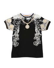 Tops - Medallion Chain Tee (8-20)-2514292