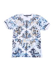 T-Shirts - Milan Italy Jeans Glitter Print Tee (8-20)-2514457