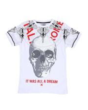 T-Shirts - Skull Compass Print T-Shirt (8-20)-2514546