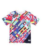T-Shirts - AOP Printed Tee (8-20)-2515902