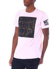 Buyers Picks - Never Give up Brushed Foil Tee-2514493