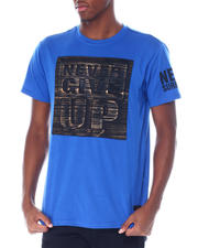 Buyers Picks - Never Give up Brushed Foil Tee-2514508