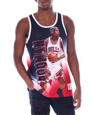 Mitchell & Ness - BULLS Behind The Back Tank - Dennis Rodman-2515695