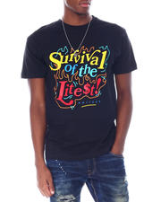OUTRANK - Survival of the Litest Tee-2514610