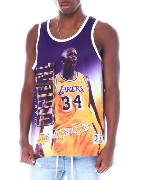 Mitchell & Ness - LAKERS Behind The Back Tank - Shaquille O'Neal