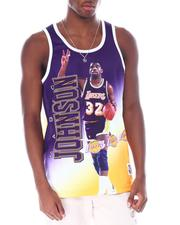 Mitchell & Ness - LAKERS Behind The Back Tank - Magic Johnson-2515728