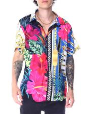 Button-downs - Tropic Flower and Gold Chain SS Woven-2516485
