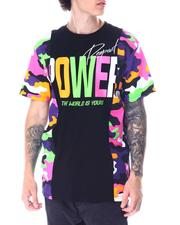 SWITCH - Power Side Camo Panel Tee-2515260