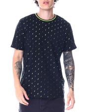Shirts - Bolt Print Rib neck Tee-2515977