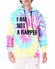 Stylist Picks - I am not a rapper tie dye hoodie-2515996