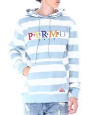 Black Pyramid - STRIPED MULTI COLOR LOGO HOODY-2516452