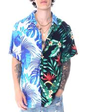 Button-downs - Split Tropical Ss woven Shirt-2516470