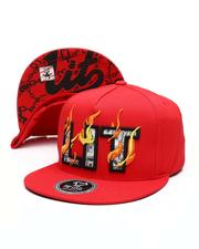 Hats - Burning Lit Snapback Hat-2514140