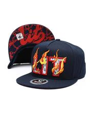 Hats - Burning Lit Snapback Hat-2514142