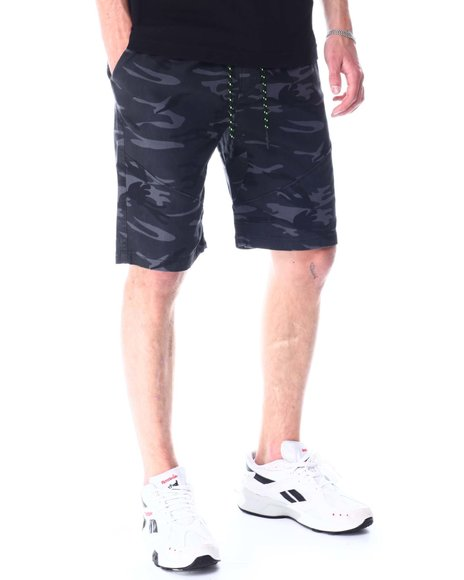Buyers Picks - Drawstring Twill Drop Crotch Articulated Seam Short