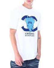 Crooks & Castles - Medusa Double C Logo Tee-2518152