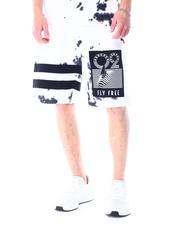 Born Fly - Miami Port Tie Dye Sweat Shorts-2515920