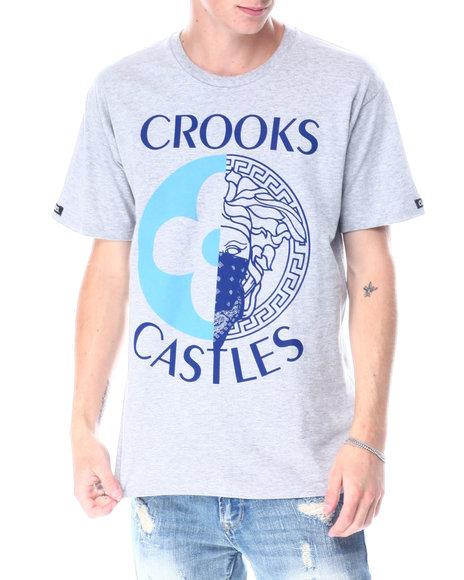 Crooks & Castles - Medusa Monogram Split Tee