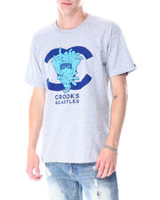Crooks & Castles - Medusa Double C Logo Tee-2518099