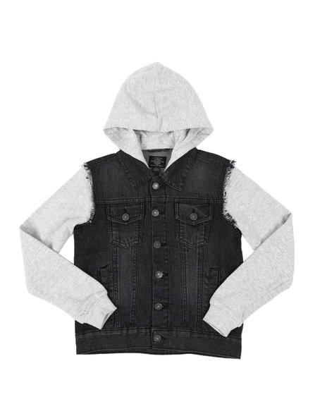 Buffalo - Hooded Denim Jacket (8-20)