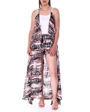 Fashion Lab - S/l maxi duster top-2517285