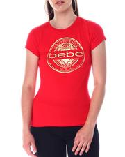 Bebe - Bebe Foil California Logo S/S Tee-2517172