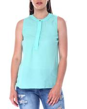 Fashion Tops - S/L Button Front Top-2517177