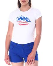 Women - USA Lip Screen S/S Tee-2517280