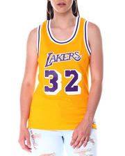 Mitchell & Ness - Women's Swingman Jersey-Magic Johnson-2517059
