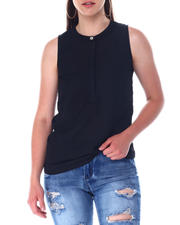 Fashion Tops - S/L Button Front Top-2517499