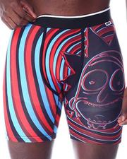PSD UNDERWEAR - Rick & Morty 3D Swirl Boxer Briefs-2509820
