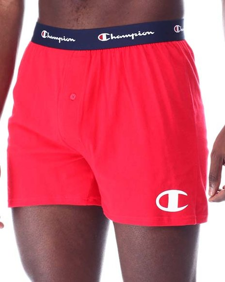 Champion - 2 Pack Button Fly Knit Boxers